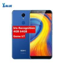 Orijinal Gome U7 5.99 inç 18: 9FHD 3050 mAh cep telefonu MTK6757CD 13MP 4 GB + 64 GB Android 7.1 OTG NFC Parmak Izi 4G LTE akıll...