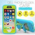 Pepkoo extrema militar de borboleta de chuva impermeável telefone celular à prova de poeira para o iphone 6 6 S 4.7 6 6 S Plus 5.5
