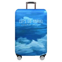 Thicker Travel Luggage Protective Cover Trunk Case Apply to 18''-32'' Suitcase elastic dust cover travel for luggage hot mar 25(China)