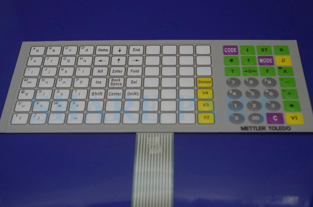 1 X For METTLER Toledo 3650 English Scale Keyboard Film for Mettler Toledo 3650 3610 3950 1 x for mettler toledo 3650 english scale keyboard film for mettler toledo 3650 3610 3950