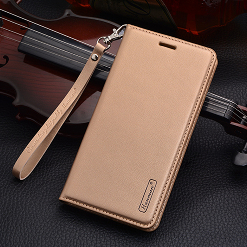 Luxury PU Leather Wallet case For Samsung Galaxy A5 (2017) A520F 5.2 inches Magnetic suction Flip Cover Card Holder