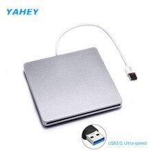 USB 3.0 Slot External DVD RW Brenner Optisches Laufwerk CD ROM Player Schriftsteller Superdrive für Apple Macbook Air Pro Laptop
