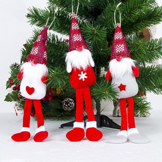 sui bao christmas tree long feet doll pendant christmas tree pendant decoration christmas decoration wholesale - Wholesale Christmas Decorations Suppliers