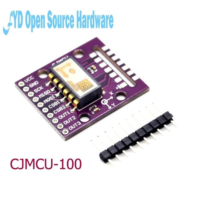 CJMCU 100 SCA100T D02 عالية الدقة ثنائي المحور الميل الاستشعار 90 درجة المدى 1g