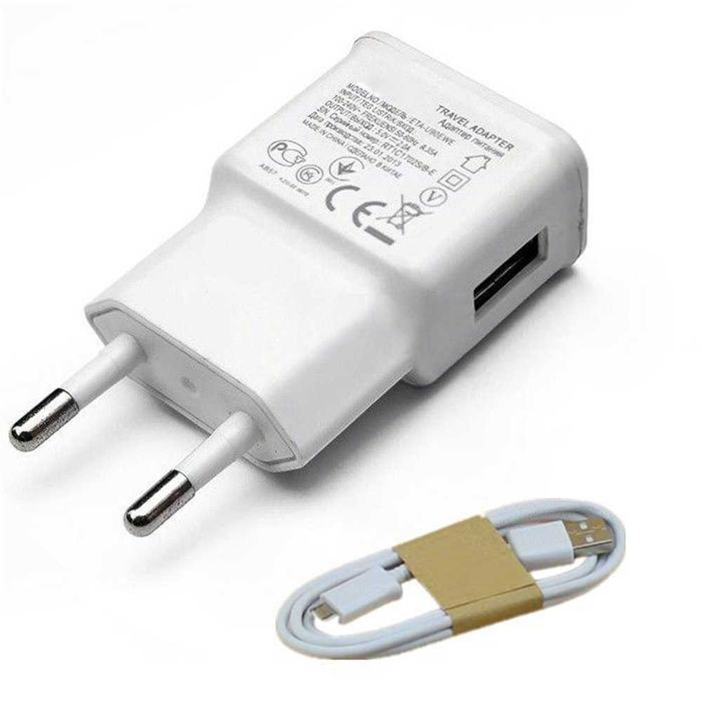 For Samsung S4 I9500 S3 S6 S7 edge J5 2017 J7 A2 Core J4 J6 Plus A20e android Phone Micro USB Cable & 5V 2A Travel Wall Charger