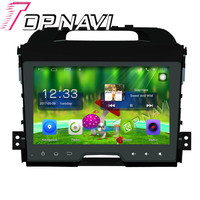 Topnavi 9'' Quad Core Android 6.0 Car GPS Navigation For KIA Sportage 2011 Radio Audio Multimedia Stereo Without DVD