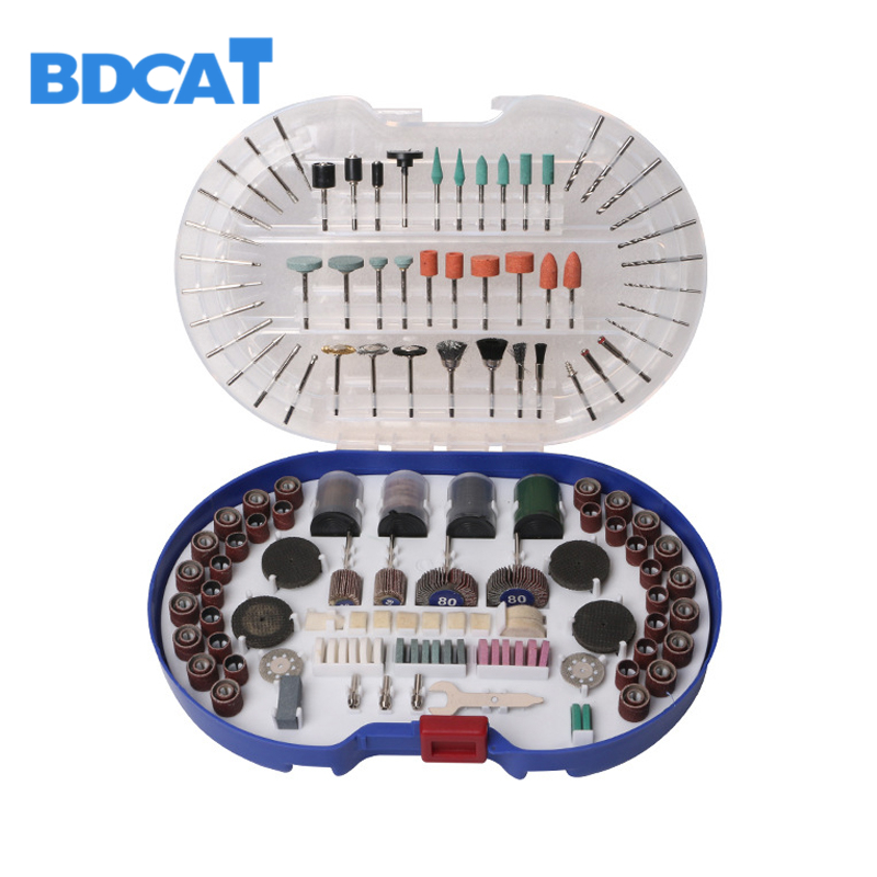 BDCAT 276PCS Rotary Tool Bit Set Electric Dremel Rotary Tool Accessories for Grinding Polishing Cutting mini drill mini electric drill dremel grinding set 12v dc grinder tool for milling polishing drilling cutting engraving dremel accessories