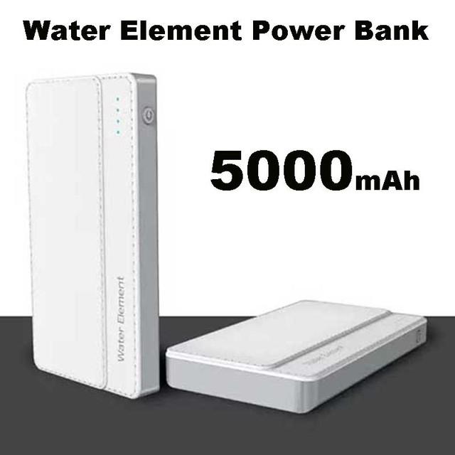 Nova bateria de polímero de banco de potência 5000 mah carregador portátil de backup externo dual usb para iphone samsung huawei xiaomi powerbank
