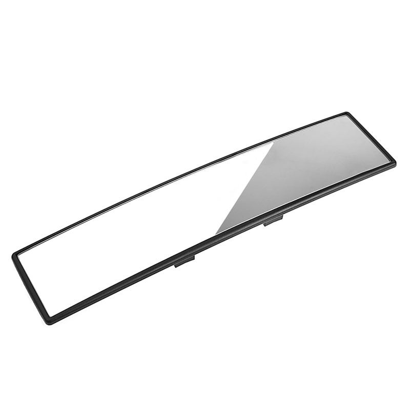 Universal 300mm panorámica curva Convex Interior Clip en el espejo retrovisor