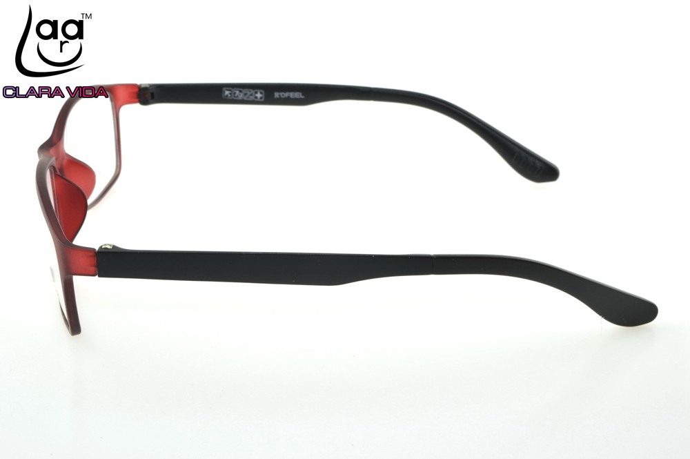 4f9beecdec7 Only 7G  TR90 Ultra Light Memory Nerd Glasses Frame Red Custom Made ...