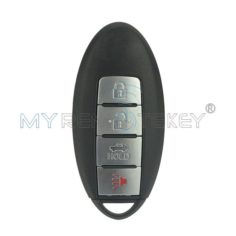 Clé de voiture intelligente 4 boutons KR5S180144014 433.92 mhz pour Nissan Altima télécommande clé remtekey