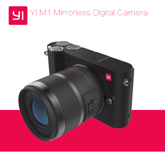 YI M1 Mirrorless Digital Camera With YI 12-40mm F3.5-5.6 Lens LCDRAW LCD 20MP Video Recorder 720RGB H.264 International Version