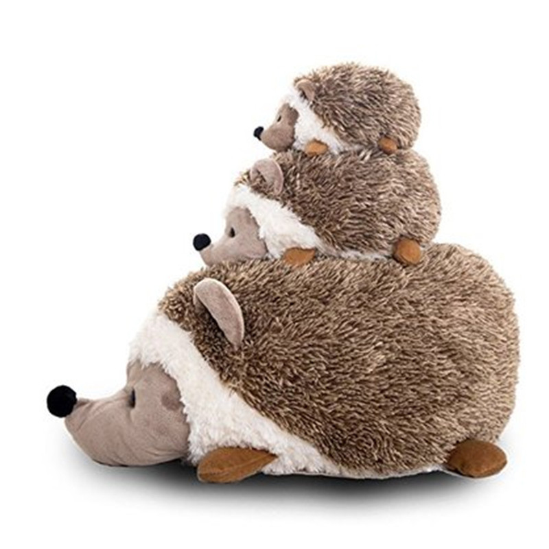 Fancytrader 70cm Large Soft Simulated Animal Hedgehog Plush Toy 28'' Stuffed Cartoon Hedgehogs Doll Pillow Kid Gift 50cm lovely super cute stuffed kid animal soft plush panda gift present doll toy