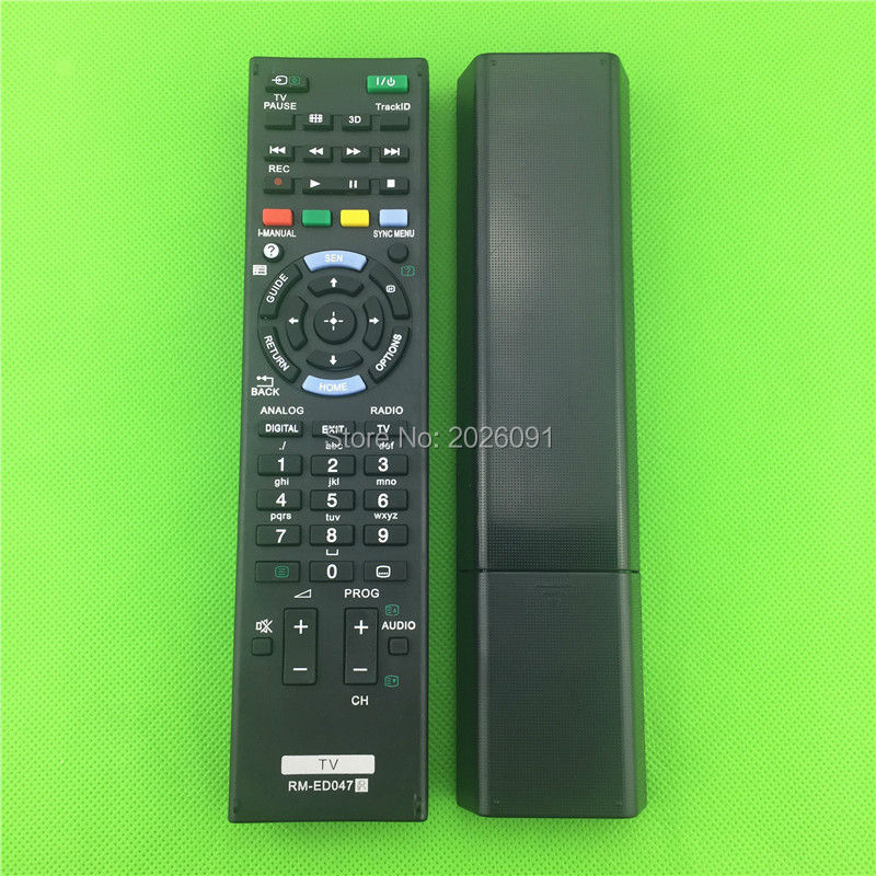 remote control suitable for SONY LED LCD HDTV 3D SMART BRAVIA UHD ULTRA HD TV RM-ED050 RM-ED061 RM-ED053 RM-ED060 RM-ED046 genuine hongdak rm s1am 1 2 lcd wired remote control camera timer for sony alpha dslr a100 more