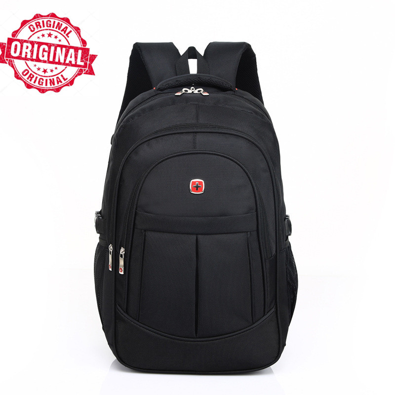 90044cd6b52f US $21.5 14% OFF|17 inch swiss men travel bag 2017 men's waterproof male  Backpack gear Men Laptop sac a dos men Urban backpack swiss Travel bag-in  ...