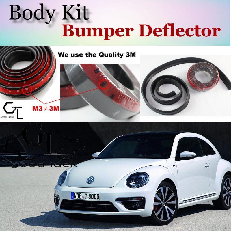 Bumper Lip Deflector Lips For Volkswagen VW Beetle A5 Fusca Maggiolino Coccinelle Front Spoiler Skirt / Body Kit / Strip