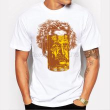 Einstein beer pint men's t-shirt