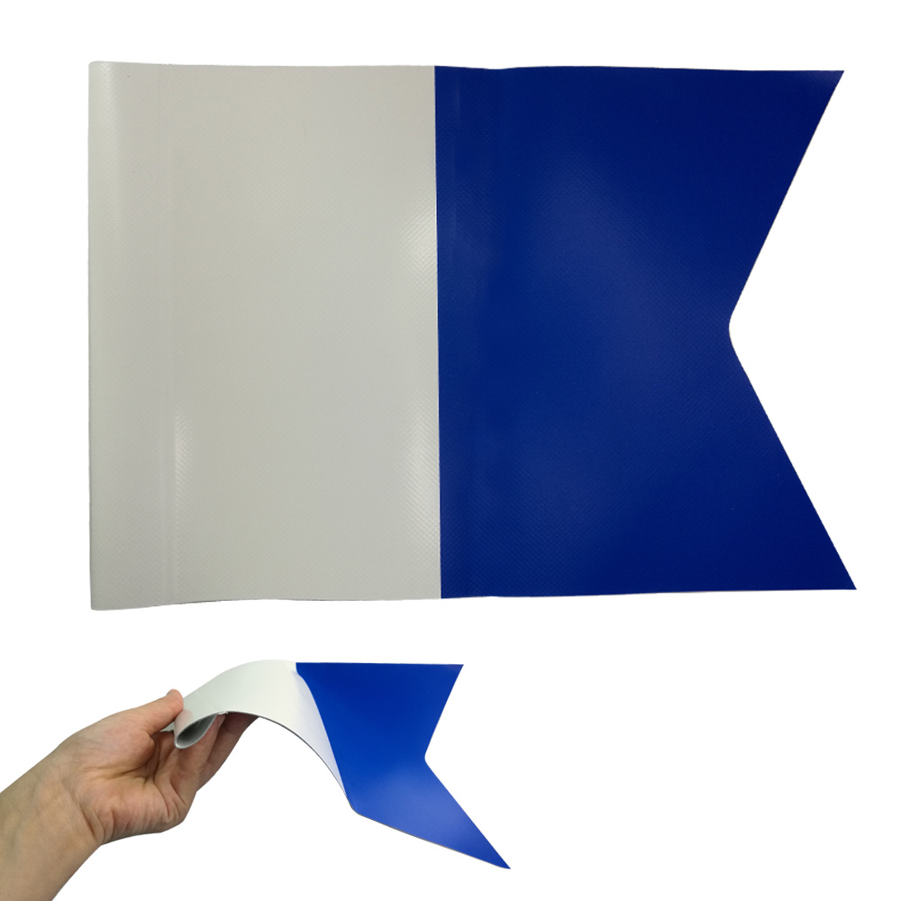 Waterproof PVC Scuba Diving Flag Inflatable Surface Marker Flag Diving Flag Accessory