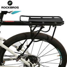 ROCKBROS Bicycle Carrier Bike Luggage Cargo Rear Rack Aluminum Alloy MTB Bike Shelf Cycling Saddle Bags