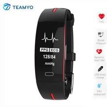 Teamyo Смарт часы браслет артериального давления монитор сердечного ритма фитнес часы cicret браслет умный браслет для IOS Android