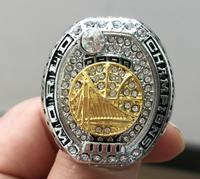 High Quality Free Shipping 2017 Golden State Warriors Championship Ring Wooden Box Fan Gift Basketball Wholesale