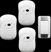 bell kits w/ 3 receivers&power by AAA battery Waterproof 280m work wireless doorbell,wireless door chime,wireless bell,door bell