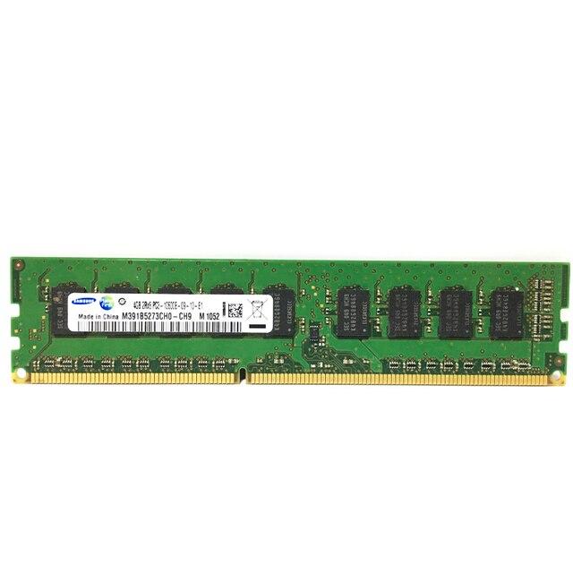 Samsung 2 ГБ 8 ГБ 4 ГБ кода коррекции ошибок DDR3 PC3 12800E 14900E 1600 МГц 1333 1866 МГц сервера desktop Memory 1600 1866 1333 МГц 8 Гб оперативная Память DIMM 1