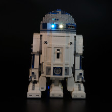 Kyglaring  Advanced version Led Light Kit For lego 10225 r2d2 robot