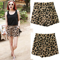Summer shorts women casual shorts New Leopard fashion print Culottes casual shorts
