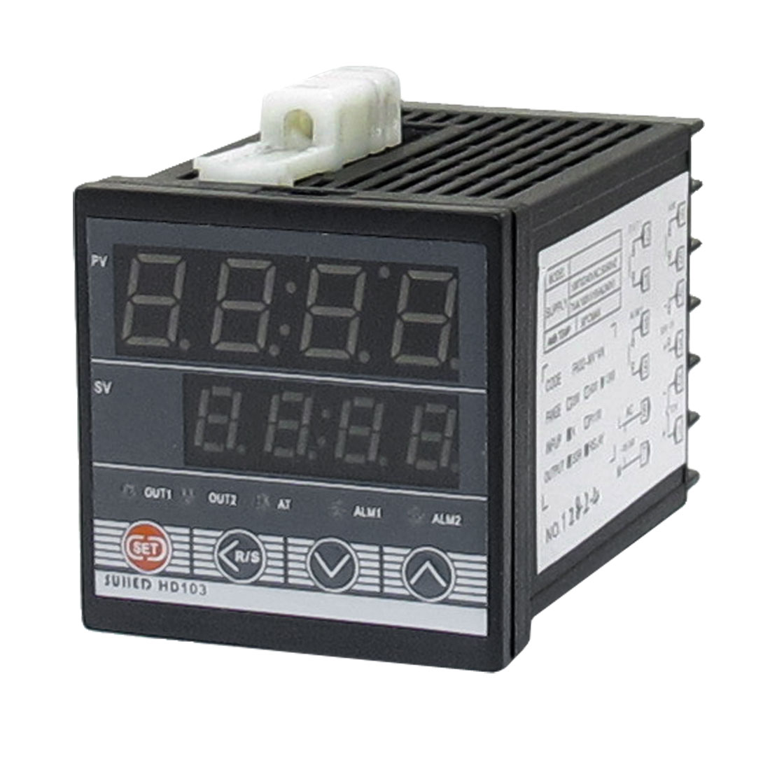 Alarm SSR Controller 9.8Ft Thermocouple Temperature Control Meter #6D715A