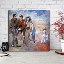 Pablo Picasso Family Of Acrobats Canvas Painting Print Living Room Home Decor Modern Wall Art Oil Poster Salon Picture
