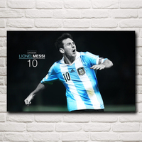 Argentine Soccer Player Lionel Messi World Cup Silk Art Poster Decoration Painting 12x19 15x24 19x30 22x35inches