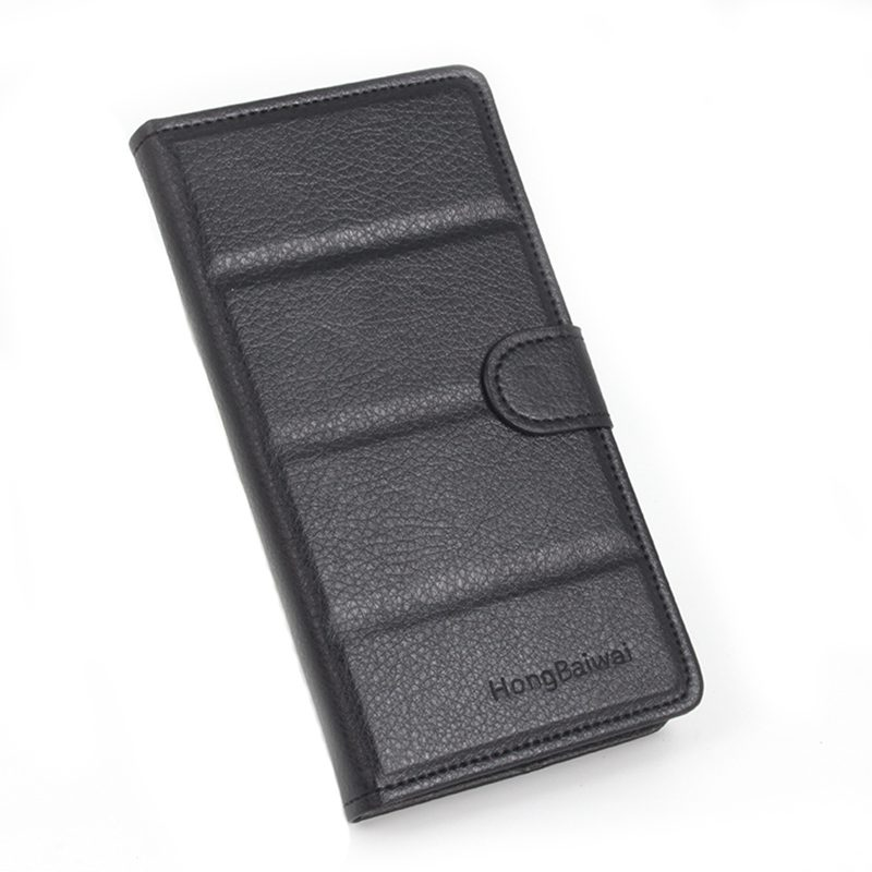 Brand HongBaiwei <font><b>One</b></font> plus <font><b>one</b></font> 1+ card holder cover case for <font><b>Oneplus</b></font> <font><b>one</b></font> <font><b>A0001</b></font> leather phone case ultra thin wallet flip cover image
