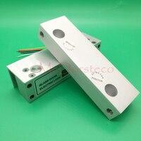 Fechadura elétrica do parafuso da porta de vidro frameless com função de atraso de tempo para o sistema de controle acesso fechadura de segurança elétrica