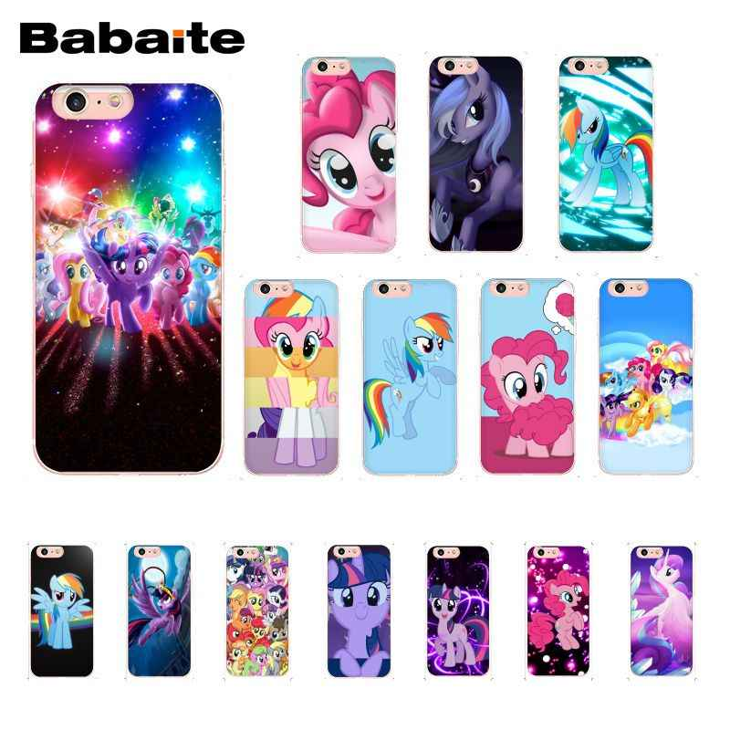 Чехол для телефона Babaite Magic My Little Pony для iphone 11 Pro 11Pro Max X XS MAX 6 6s 7 7plus 8 8Plus 5 5S SE XR