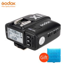лучшая цена Godox X1N X1T-N 2.4GHz i-TTL Wireless Single Transmitter Trigger For Nikon Godox TT685N AD200 TT600 TT350N V860II-N