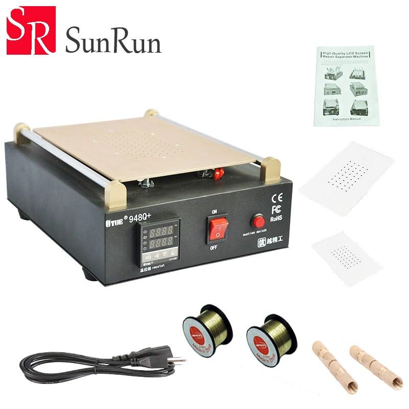 UYUE 948Q Build In Vacuum Pump LCD Separator Machine Max 11 inches Lens Glass Repair For