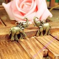 32*29mm alloy Charm Pendants double sides elephant ancient bronze pendant DIY jewelry making accessories material