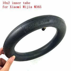 Image 4 - 新アップグレードインナータイヤインフレータブルタイヤカメラ 10 × 2 チューブxiaomi mijia M365 電動スクータータイヤ交換インナーチューブ