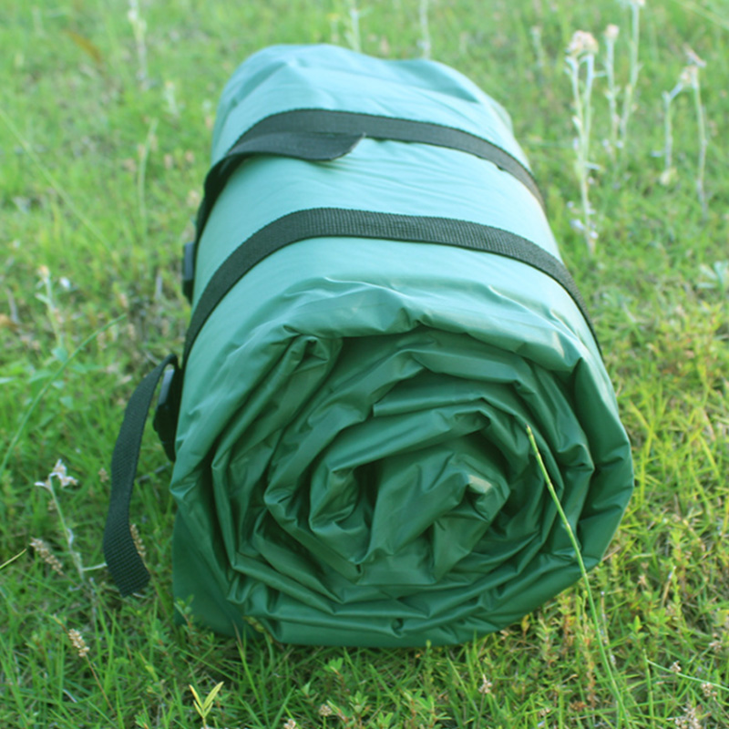 Self-Inflatable Camping Mat Outdoor Inflatable Cushion Waterproof Sleeping Bbq Mat With Pillow Tpu Valve