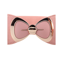 Bowknot Buckle Wide Elastic Stretch Waist Belt