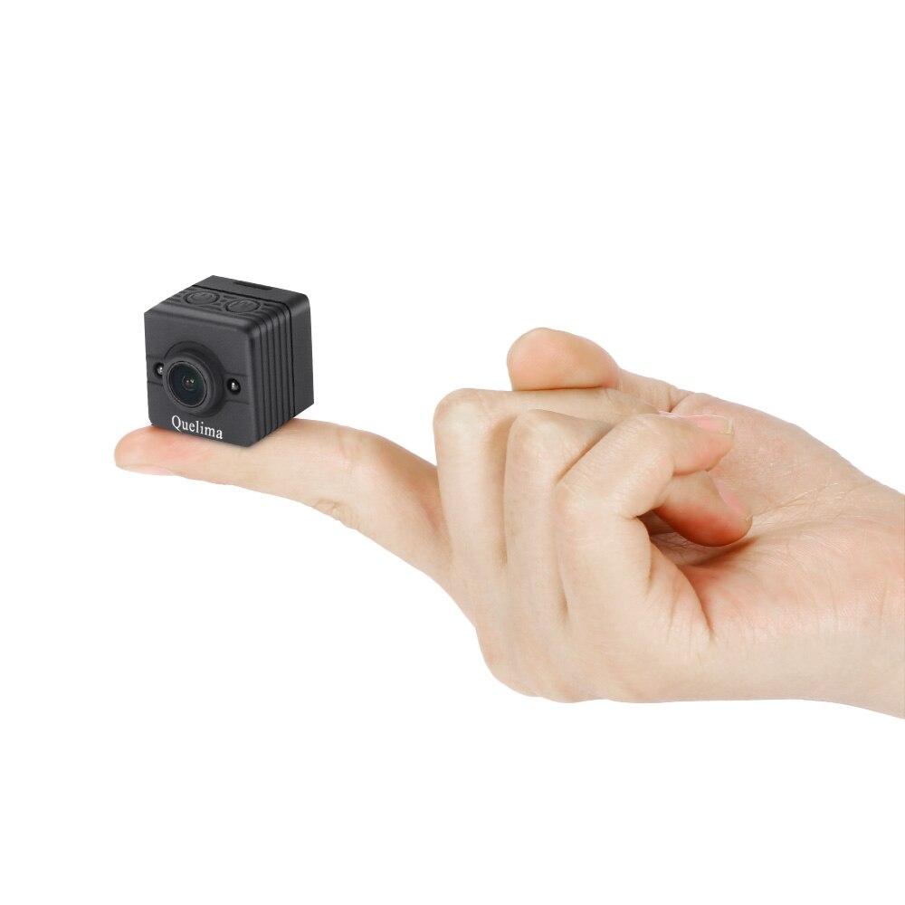 Quelima SQ12 Mini Dash Cam 155 Degrés Grand Angle 1080 p FHD DVR Enregistrement En boucle Le Cycle et Image Claire nuit Vision USB TF Carte