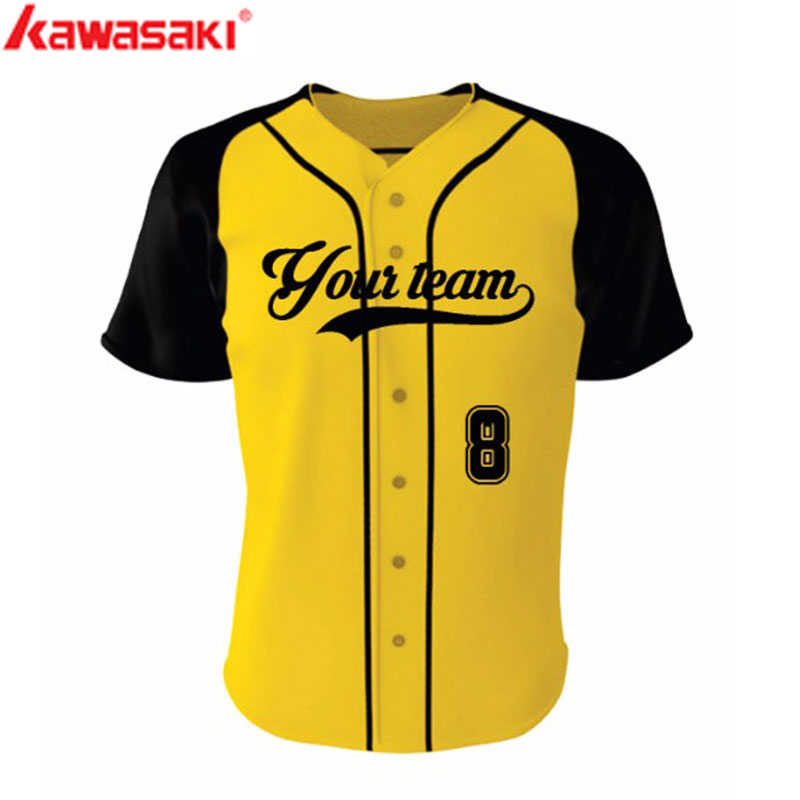 Genuine Kawasaki Brand Custom BaseBall Jerseys Top Mens & Women Fans Collage Style Breathable Practice Softball  Jerseys Shirt