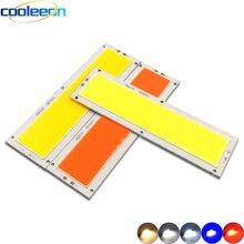 10 шт. 120x36 мм COB лампы 10 Вт светодиодные лампы 12 В красный синий теплый естественный холодный белый излучающие цвета светодиодные лампы для DIY ...