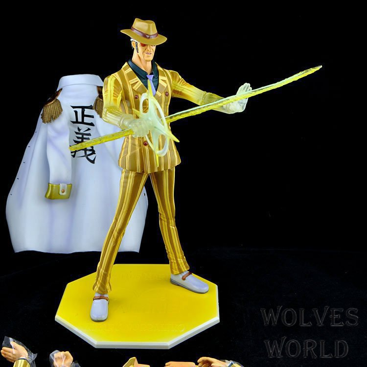 цена на anime one piece Naval general  Kprusoian model garage kit pvc action figure classic collection toy doll