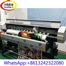 High Quality Eco solvent printer for Outdoor Flex banner vinyl все цены