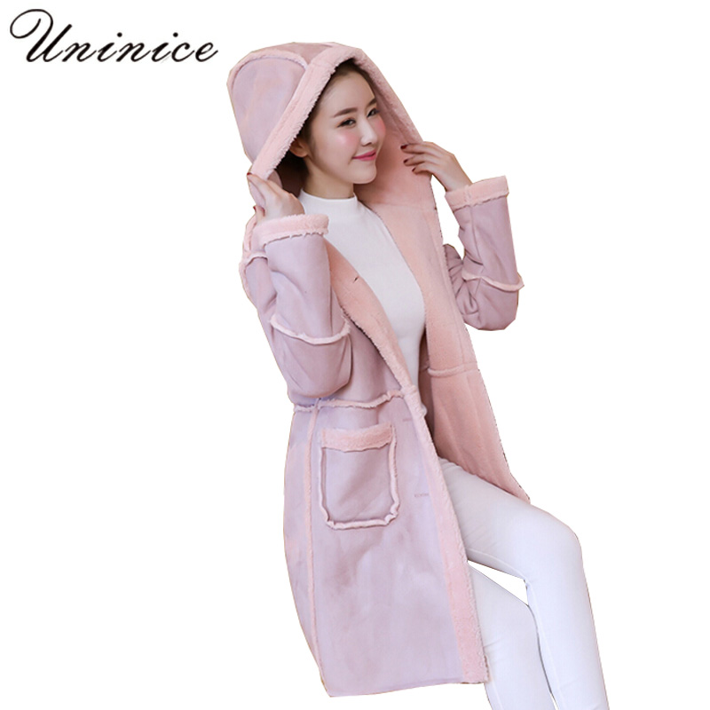 soft elasticity thicken cashmere wool knee warmer supporter black pair long winter coat women thicken cashmere wool elegant hooded jacket parka plus size 2017 casual autumn warm Outwear woman Clothes