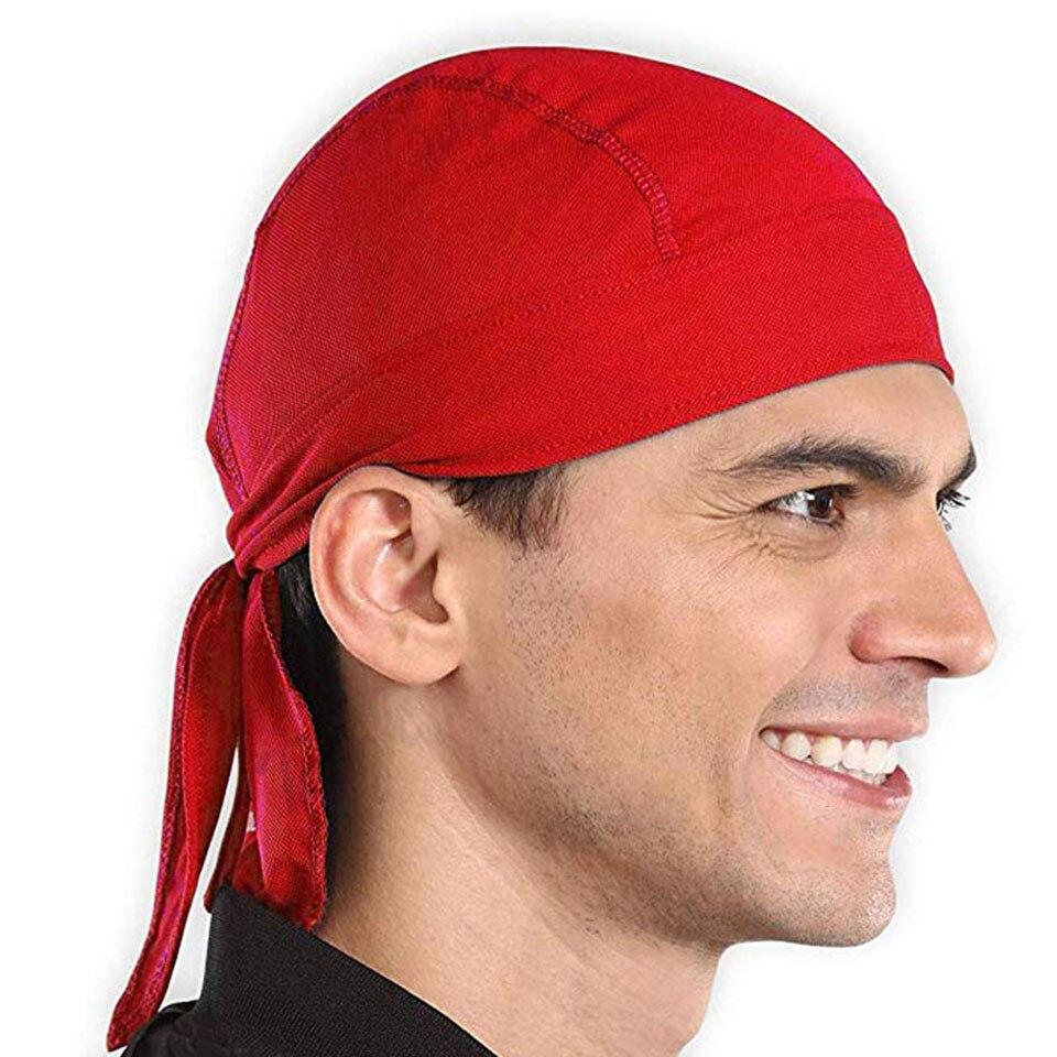Casco pirata, gorro con forro transpirable de secado rápido, gorro de deporte para hombres y mujeres para correr, Bandana, pañuelo para la cabeza, sombrero, capucha, diadema