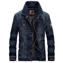 Брендовая мужская джинсовая куртка дизайнерская весна осень ретро Топ Qualtiy Плюс Размер Повседневная джинсовая куртка пальто Мужская Верхняя одежда 4XL BF66008A