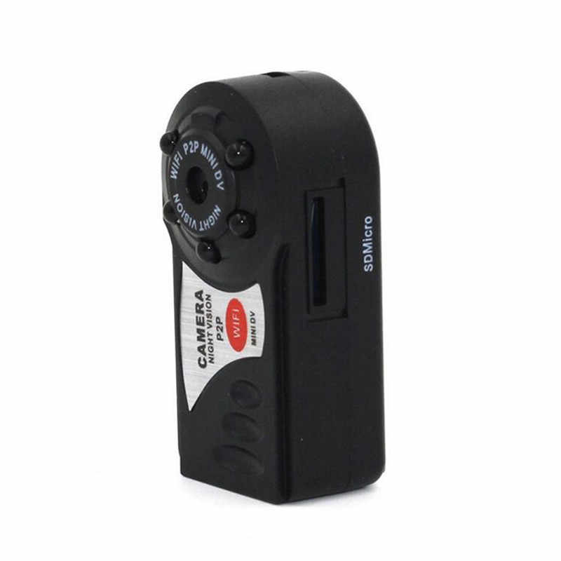 Sansnail q7 كاميرا wifi dvr مصغرة dv كاميرا لاسلكية مسجل فيديو كشف الحركة ip كاميرا للرؤية الليلية كاميرا صغيرة